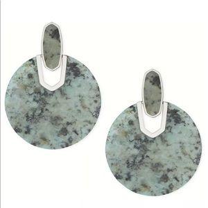 NEW Kendra Scott Didi African Turquoise Earrings